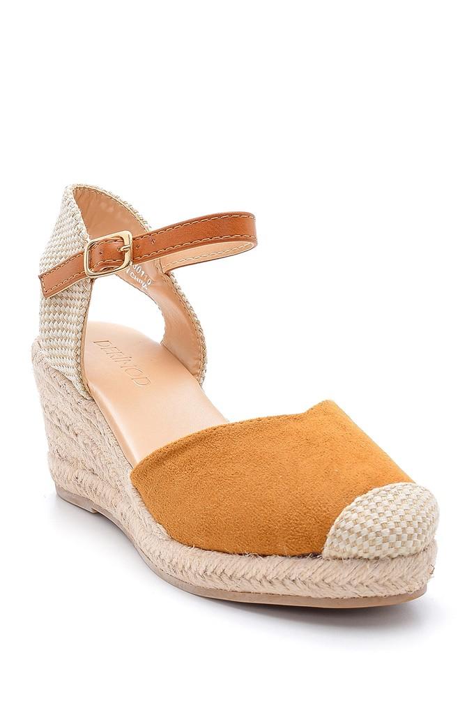 5638123708 Kadın Dolgu Topuklu Sandalet