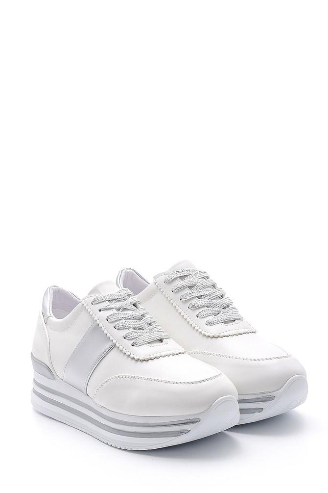 5638121106 Kadın Yüksek Tabanlı Sneaker