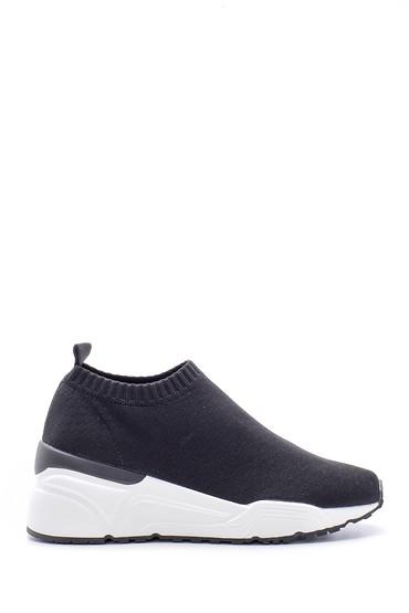Siyah Kadın Çorap Sneaker 5638123538
