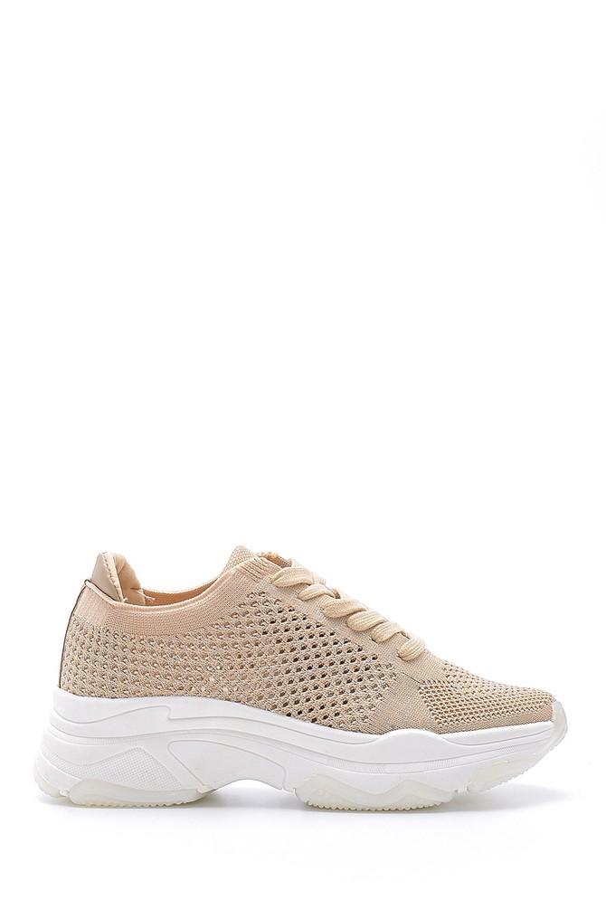 Bej Kadın Sneaker 5638123597