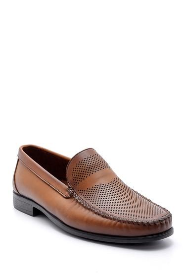 Kahverengi Erkek Deri Loafer 5638134376