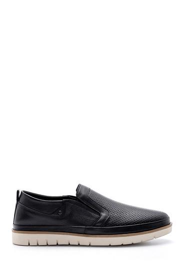 Siyah Erkek Deri Casual Ayakkabı 5638147013