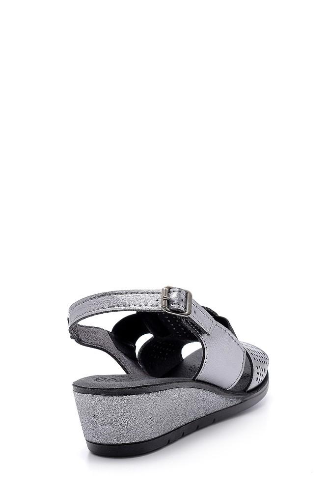 5638160196 Kadın Metalik Sandalet
