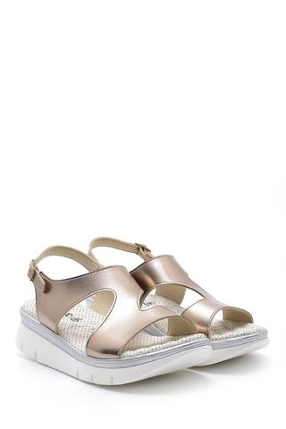 Kadın Metalik Sandalet