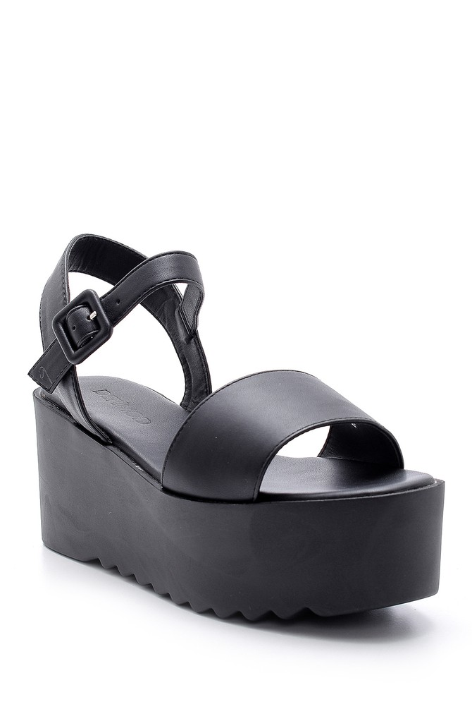 5638135959 Kadın Yüksek Tabanlı Sandalet