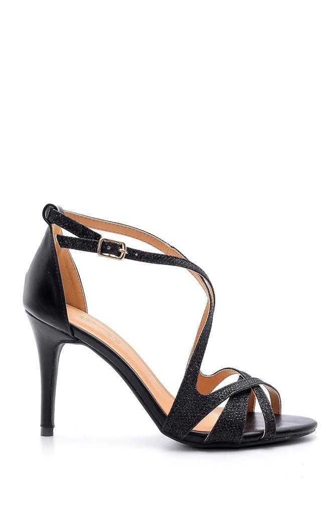 Siyah Kadın Topuklu Ayakkabı 5638136478