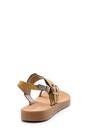 5638126132 Kadın Yılan Derisi Detaylı Sandalet