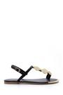 5638128591 Kadın Metal Detaylı Sandalet