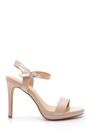 5638128998 Kadın Rugan Topuklu Ayakkabı
