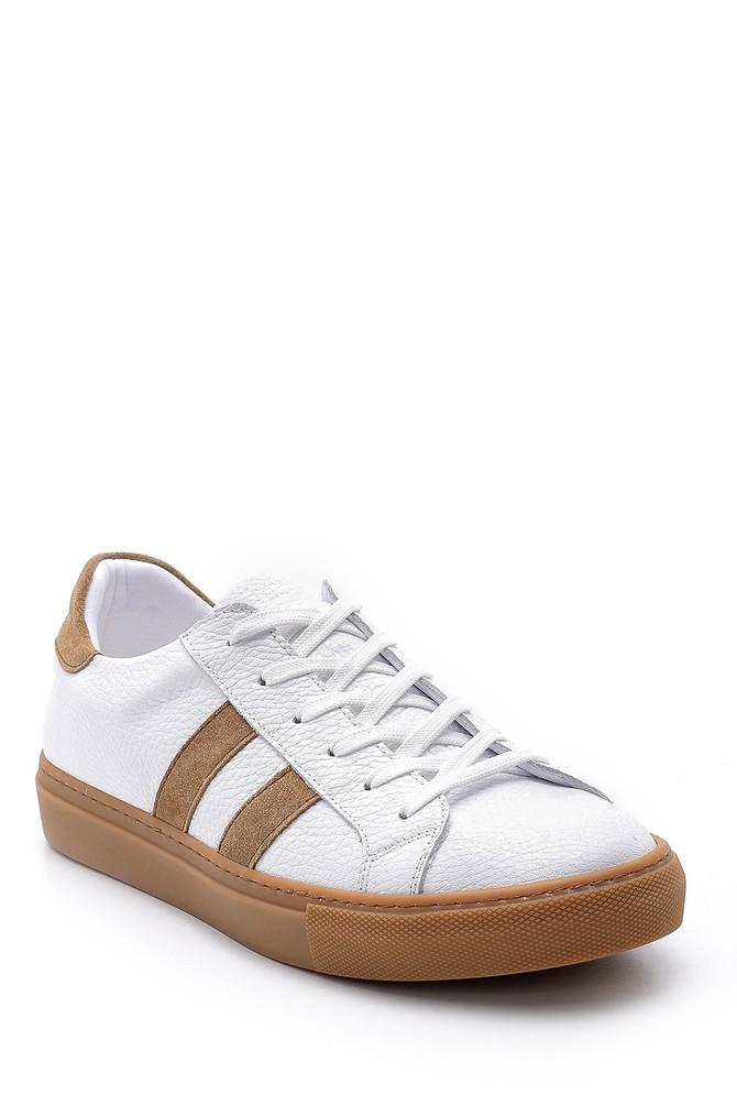 5638143100 Erkek Deri Sneaker