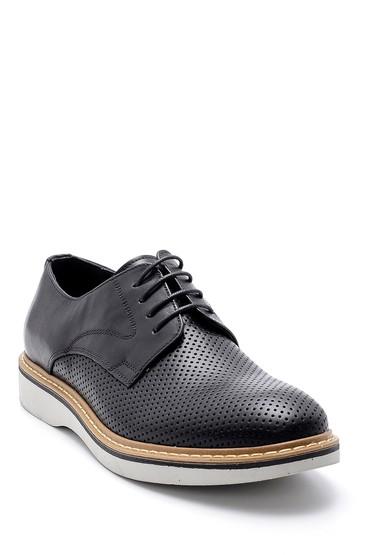Siyah Erkek Deri Casual Ayakkabı 5638143267