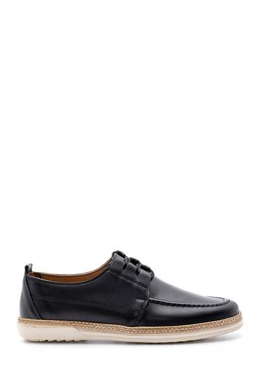 Siyah Erkek Deri Casual Ayakkabı 5638146945