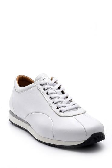 Beyaz Erkek Deri Sneaker 5638147151