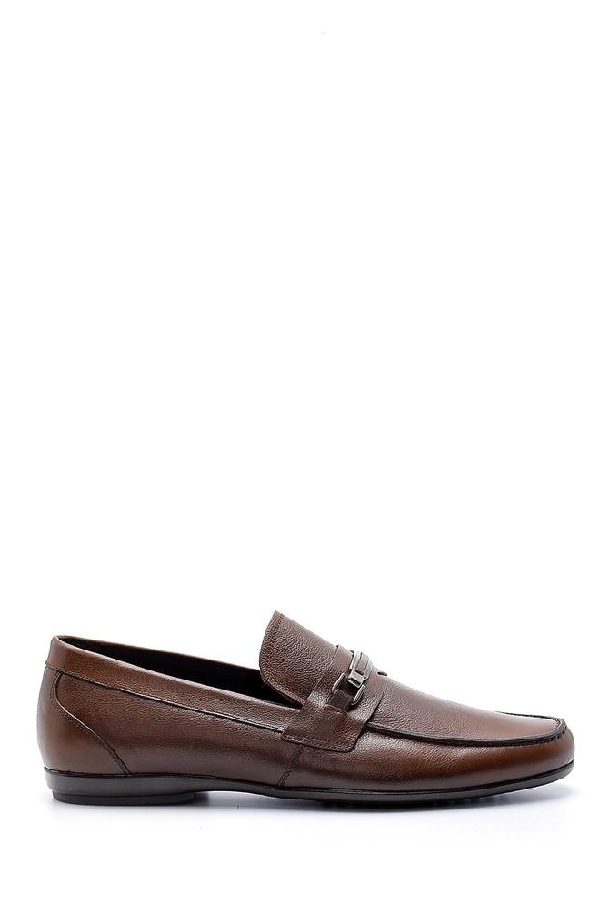 Kahverengi Erkek Deri Klasik Loafer 5638148921