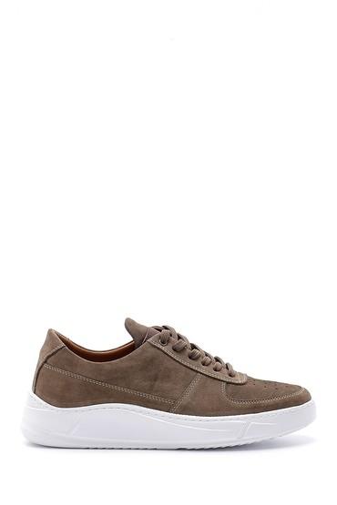 Kahverengi Erkek Nubuk Sneaker 5638155230