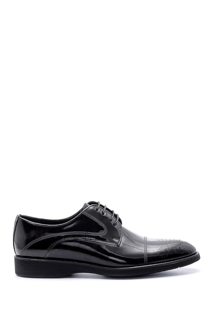 Siyah Erkek Deri Klasik Ayakkabı 5638155413