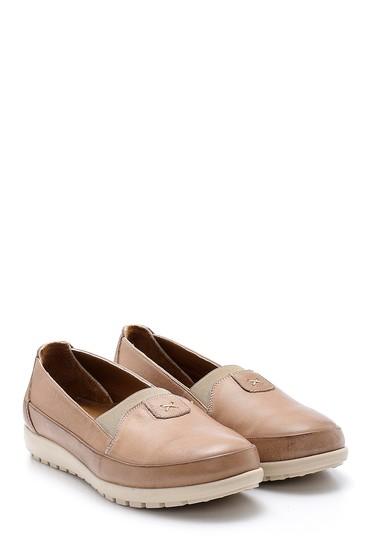 Vizon Kadın Deri Ayakkabı 5638152098