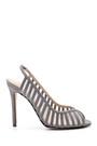 5638161387 Kadın Süet Deri Topuklu Ayakkabı