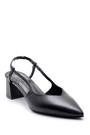 5638163224 Kadın Deri Topuklu Ayakkabı