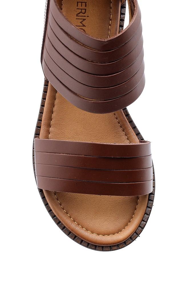 5638167983 Kadın Deri Sandalet