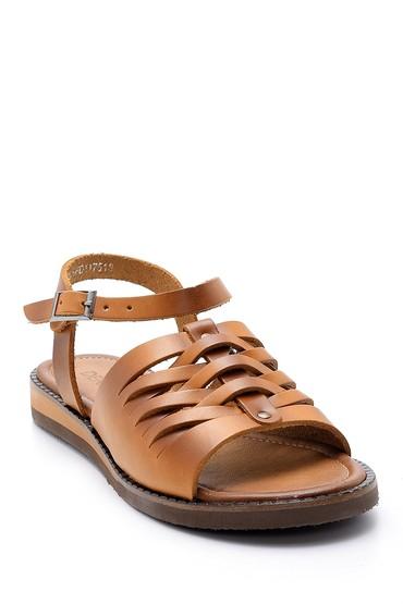 Taba Kadın Deri Sandalet 5638168009