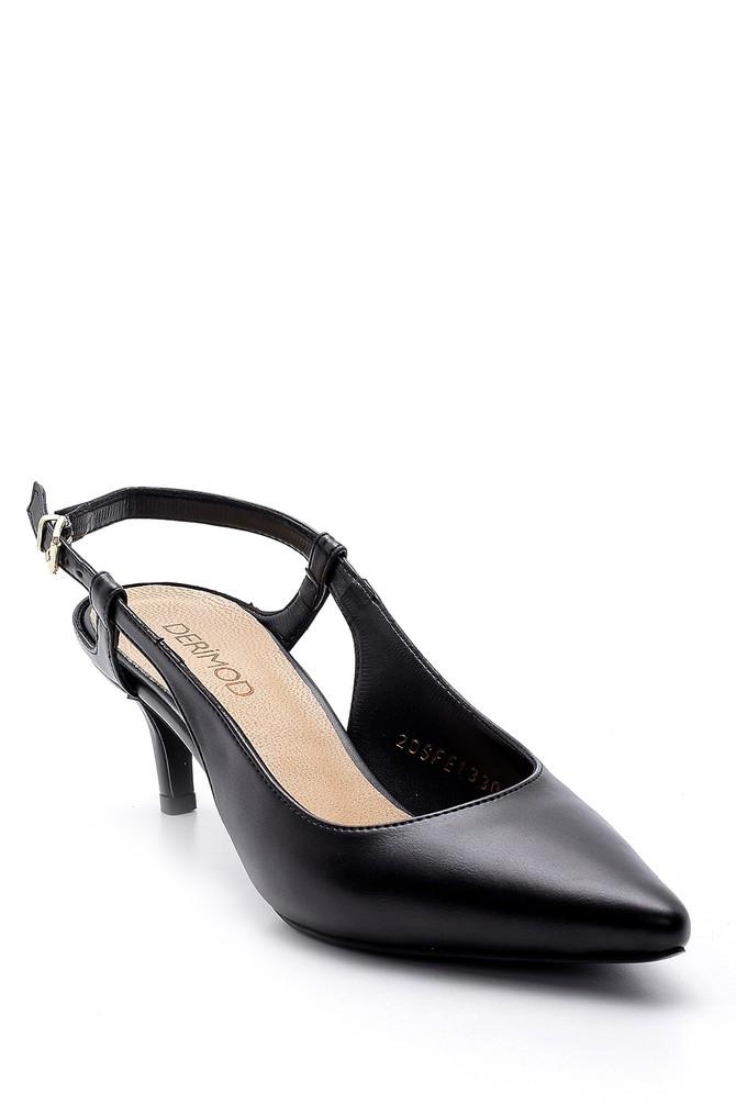 5638163446 Kadın Kısa Topuklu Ayakkabı