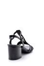 5638135850 Kadın Metalik Topuklu Sandalet