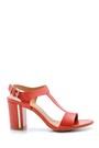 5638126414 Kadın Kalın Topuklu Sandalet