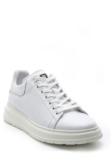 Beyaz Erkek Deri Sneaker 5638144283