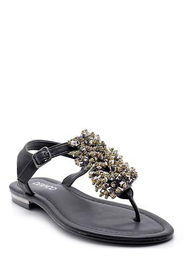 Siyah Kadın Sandalet 5638127780