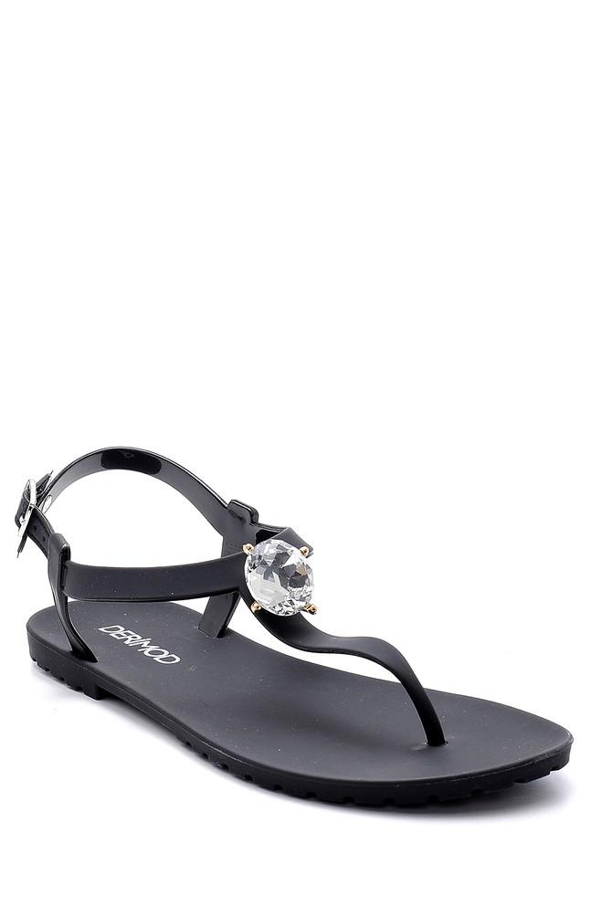 5638128628 Kadın Plastik Sandalet