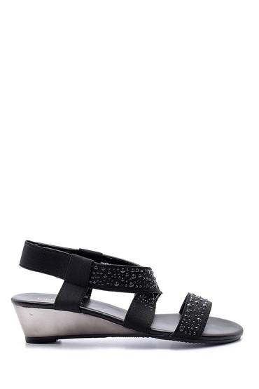 Siyah Kadın Sandalet 5638129819