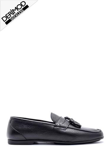 Siyah Erkek Deri Loafer 5638159014
