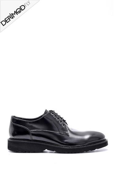 Siyah Erkek Deri Ayakkabı 5638162642
