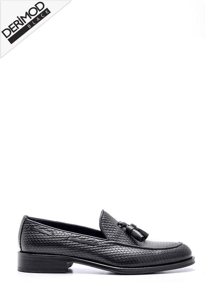 Siyah Erkek Deri Ayakkabı 5638162673
