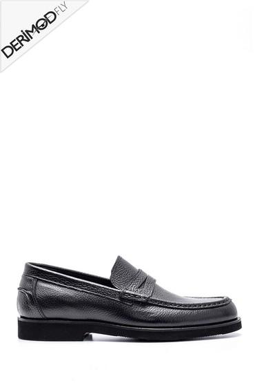 Siyah Erkek Deri Ayakkabı 5638162712