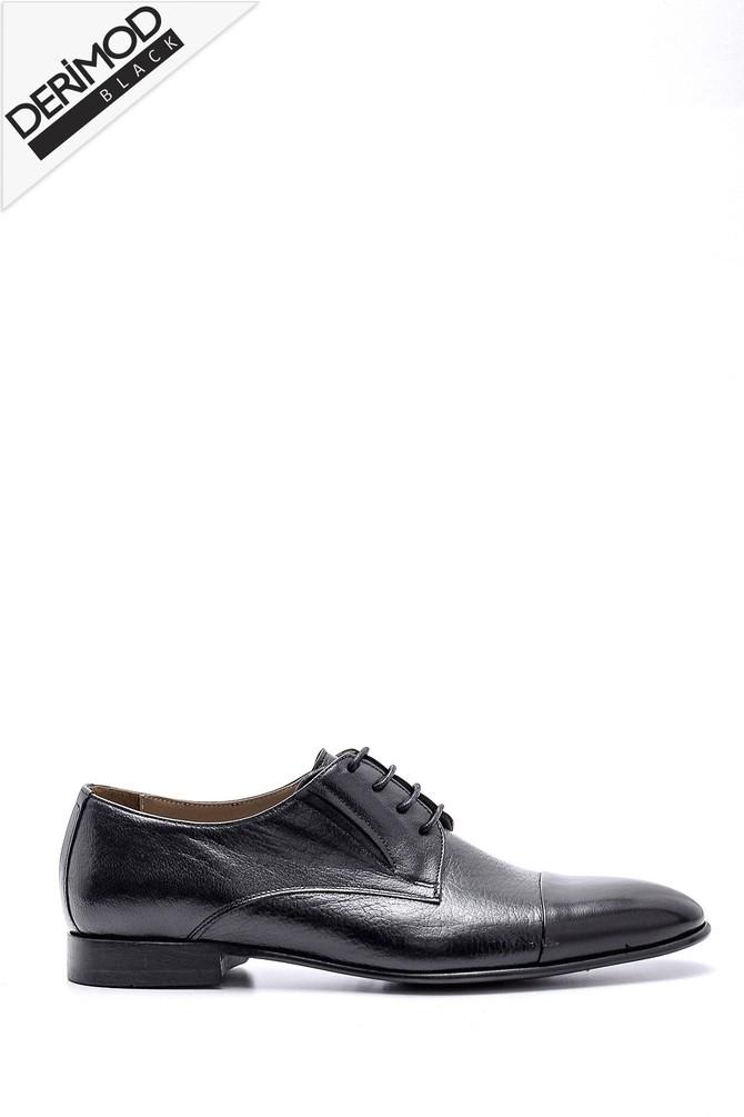 Siyah Erkek Deri Ayakkabı 5638162725