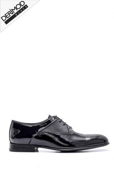 Siyah Erkek Deri Ayakkabı 5638162836