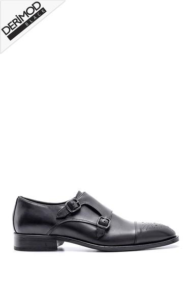 Siyah Erkek Deri Ayakkabı 5638162877