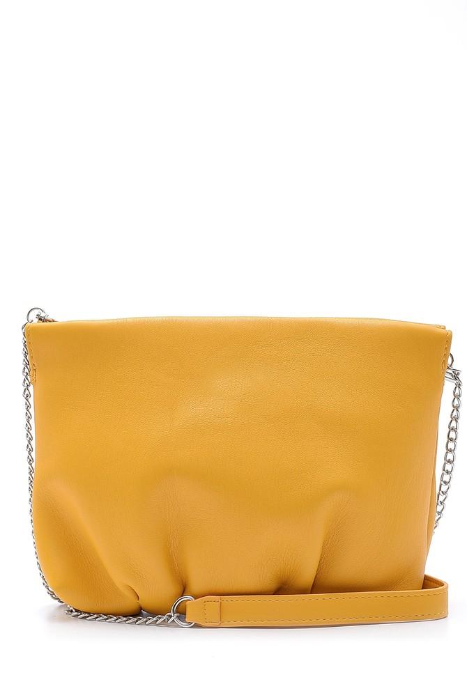Sarı Kadın Casual Çapraz Çanta 5638158229