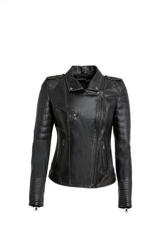 Carmina - X Kadın Deri Ceket