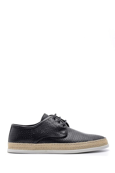 Siyah Erkek Deri Casual Ayakkabı 5638143586
