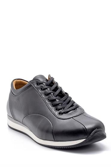 Siyah Erkek Deri Sneaker 5638147150