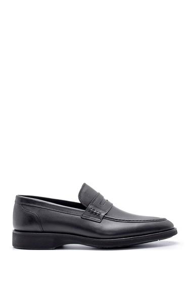 Siyah Erkek Deri Klasik Loafer 5638155203