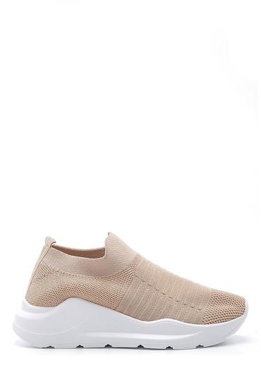 Bej Kadın Çorap Sneaker 5638173576