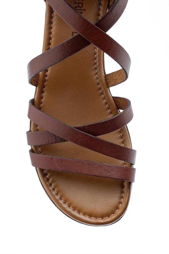 5638161596 Kadın Deri Sandalet