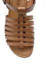 5638161614 Kadın Deri Sandalet