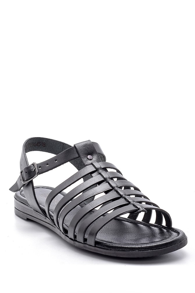 5638161615 Kadın Deri Sandalet