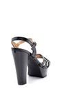 5638123853 Kadın Rugan Topuklu Ayakkabı