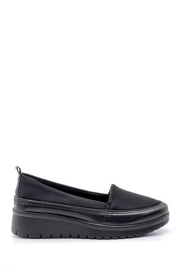 Siyah Kadın Kalın Tabanlı Ayakkabı 5638170731